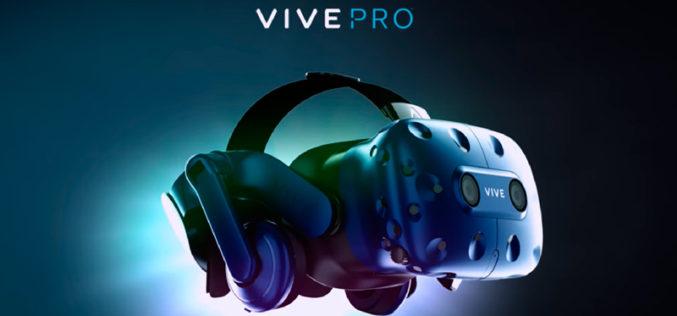 HTC Vive Pro, una realidad virtual más ligera e inmersiva