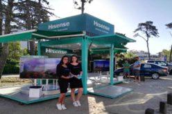 Hisense dice presente en la Costa Atlántica