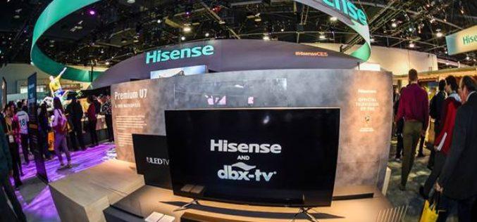Hisense presentó toda su tecnología para disfrutar de la Copa mundial de la FIFA Rusia 2018 como nunca antes