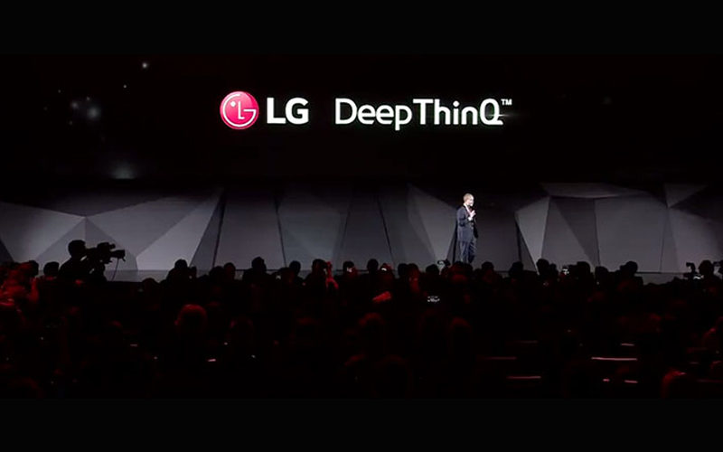 Plataforma DeepThinQ de LG fue presentada en el CES 2018