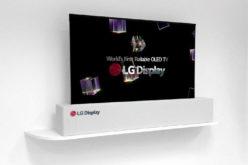 Pantalla enrollable y TV de 8K de LG sorprendió a todos en el CES