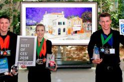 LG recibe premios al mejor producto por LG Oled TV con inteligencia artificial durante CES 2018