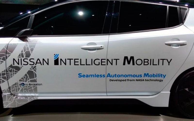 Nissan y NASA trabajarán juntas para investigación y desarrollo de servicios de movilidad autónoma