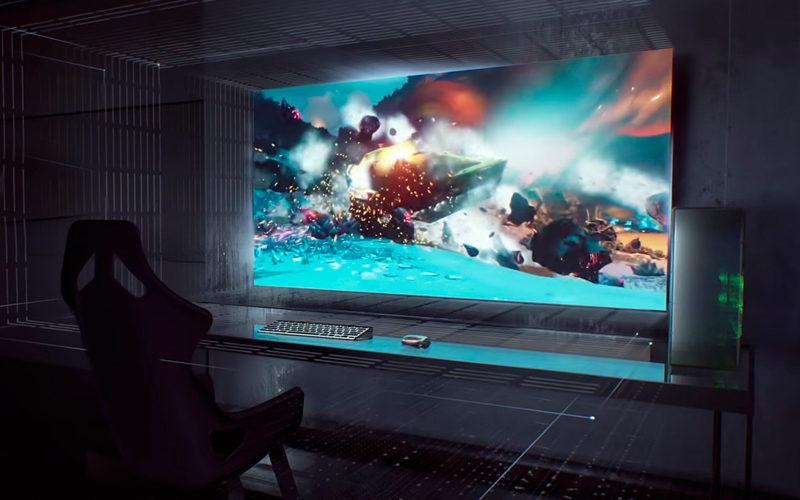Nvidia llevó al CES una pantalla para gamers con Google Assistant