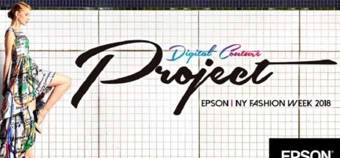 Epson realiza la cuarta edición del Digital Couture Project que une moda con tecnología