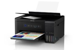 Epson lanza multifuncionales EcoTank con sistema de tinta antiderrames