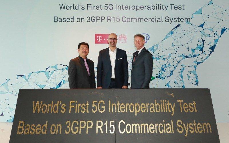 Deutsche Telekom, Intel y Huawei logran la primera interoperabilidad 5G NR en el mundo