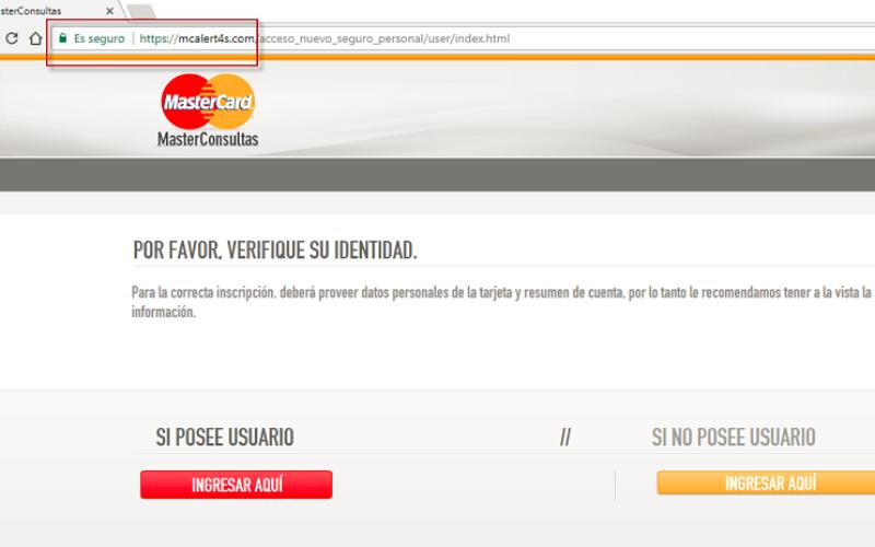 Nuevo engaño vinculado a MasterCard en los anuncios de Google