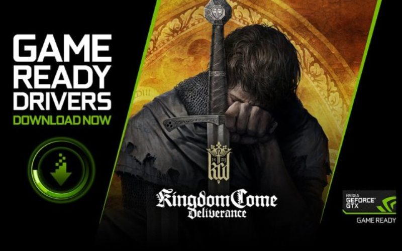 Los gamers con GeForce están Game Ready para Kingdom Come: Deliverance