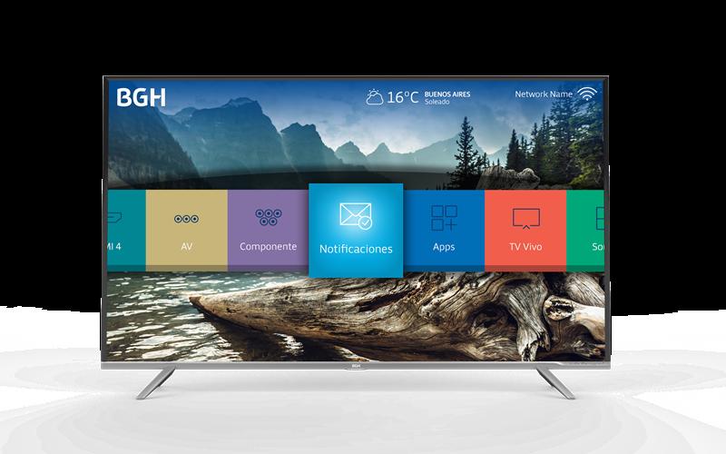 BGH presenta su nueva TV 4K Ultra HD