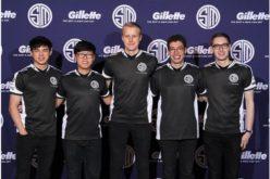 Gillette le da la bienvenida a su alineación de atletas en el campo de los Esportsal Team Solomid