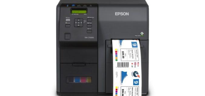 Epson presentó impresoras de etiquetas para PyMEs
