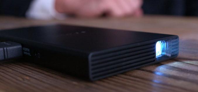 Sony presenta el proyector de bolsilloMP-CD1