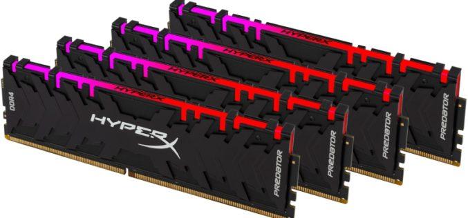 HyperX lanza Predator DDR4 RGB con tecnología de sincronización infrarroja