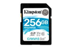 Kingston Digital anuncia la adición de 256GB: Canvas Go!