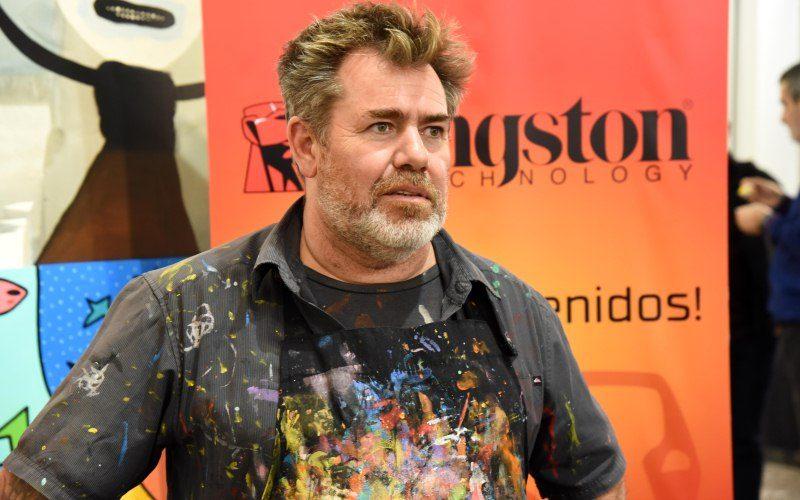 El arte y la tecnología se fusionan de la mano de Kingston con Milo Lockett