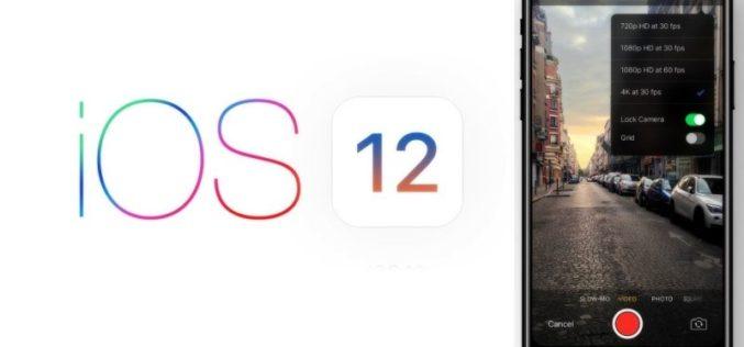 Conoce las nuevas novedades de Apple con iOS 12