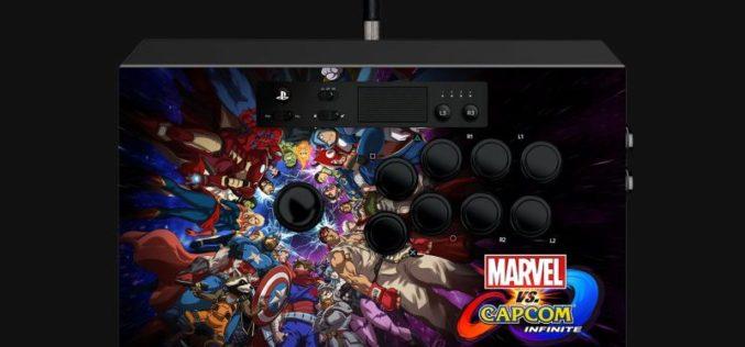 Razer anuncia Marvel vs. Capcom®: Infinite Arcade Stick para Playstation™ 4