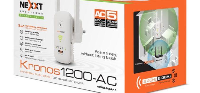 Nexxt SolutionspresentóKronos 1200 AC en Pulso IT