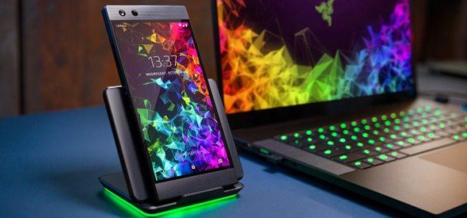 Conoce el dispositivo de juego emblemático Razer Phone 2
