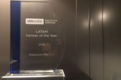 VMware otorga el premio a Westcon-Comstor Americas México al Partner of the Year durante el 2018