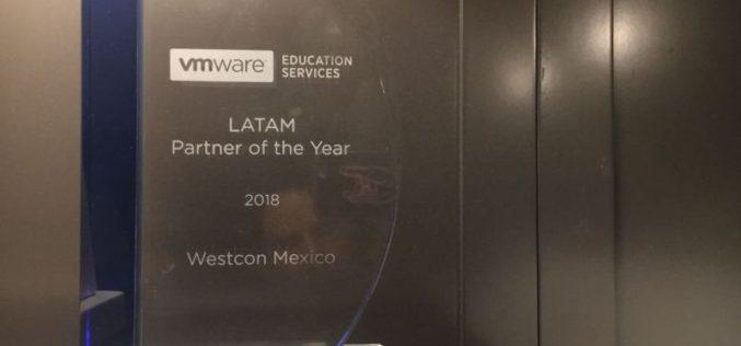 VMware otorga el premio a Westcon-Comstor Americas México al Partner of the Year durante el 2018