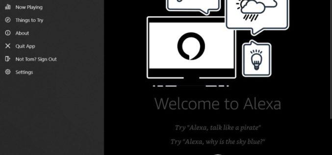 Alexa ya está disponible en PC con Windows 10