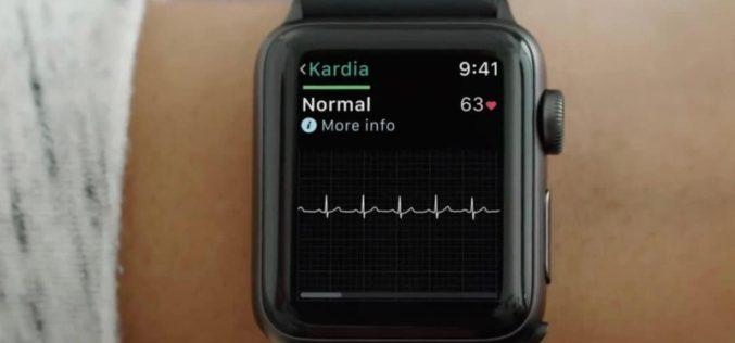 La función de electrocardiograma de Apple Watch incluida con watchOS 5.1.2