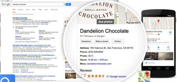 Ahora con Google Maps podrás chatear con empresas