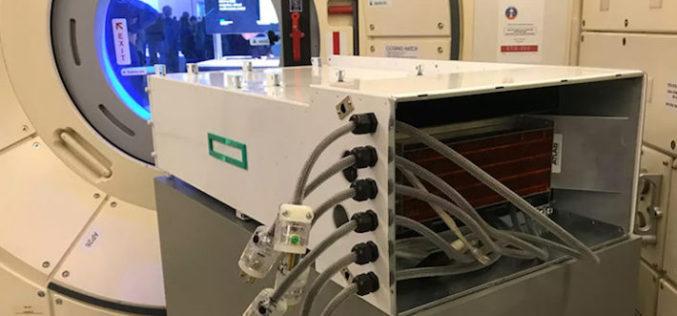 HPE y el primer servicio de supercómputo para los astronautas