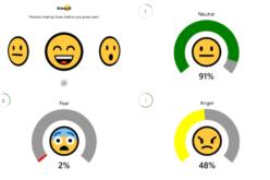 Microsoft lanzó app para calificar tus expresiones faciales con emojis