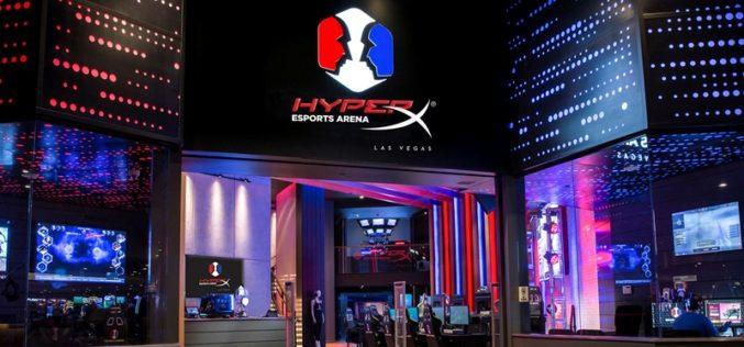 HyperX y Allied eSports anuncian HyperX eSports Arena Las Vegas