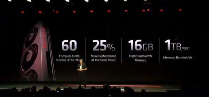 AMD presenta la primera GPU para gaming de 7 nm del mundo