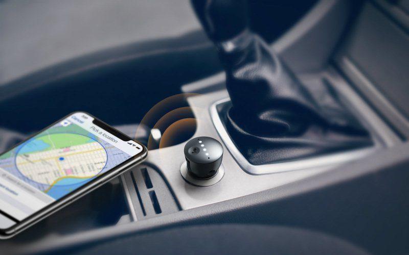 Google Assistant para automóvil con control de voz manos libres de Anker y JBL