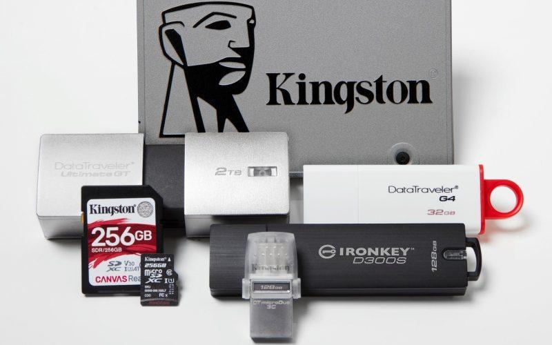 CES 2019: Kingston hará demo de nuevas SSD, así como de soluciones integradas para la vida cotidiana