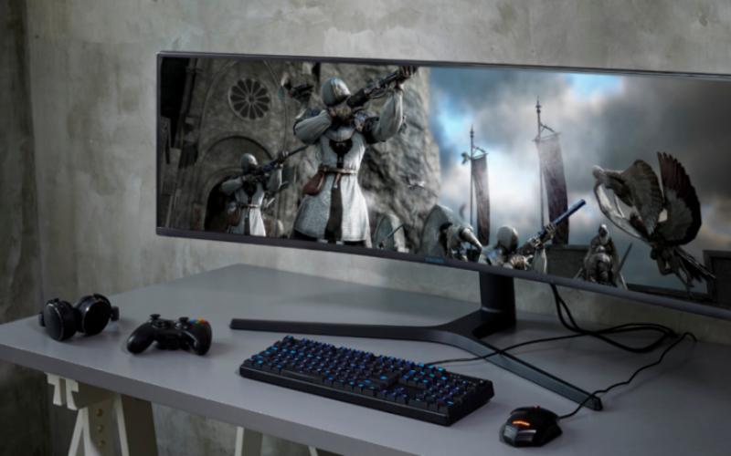 Samsung presentó tres nuevos monitores diseñados para espacios de trabajo y juegos